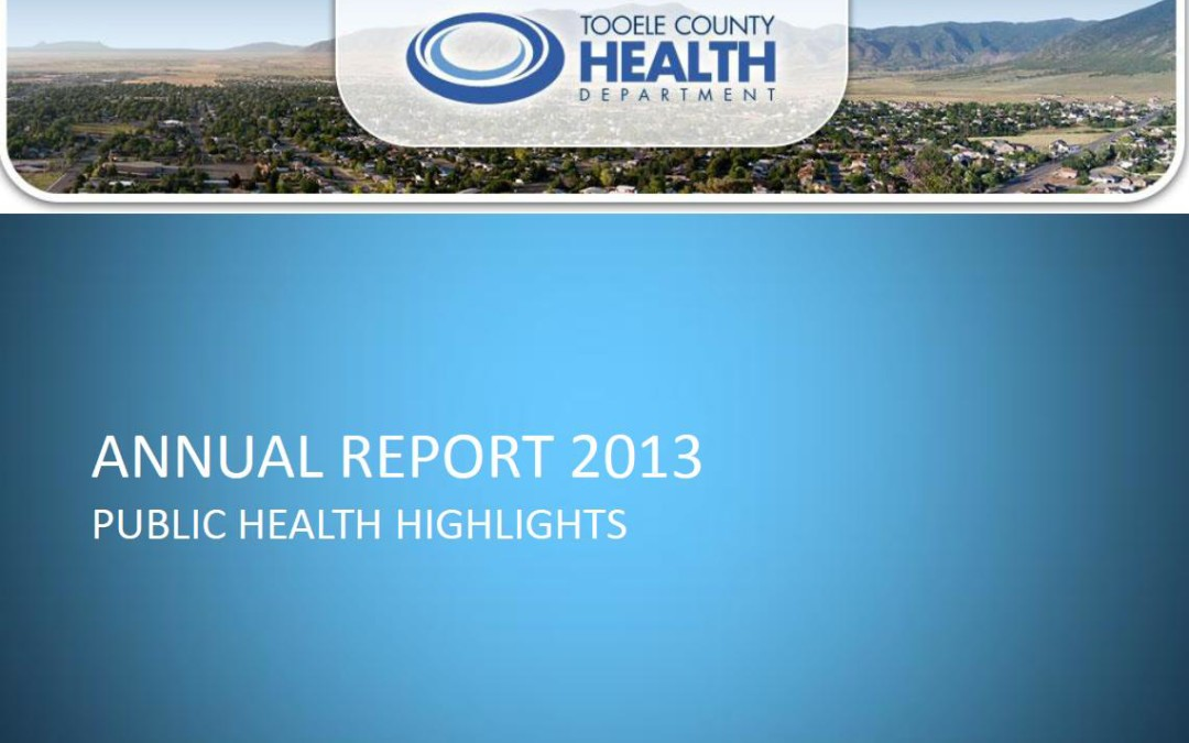 Annual Report 2013 – Public Health Highlights