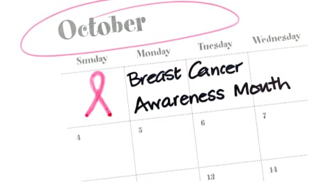 October is Breast Cancer Awareness Month!  The best protection is early detection