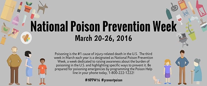 National Poison Prevention Week