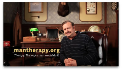 Worried about someone? Man Therapy